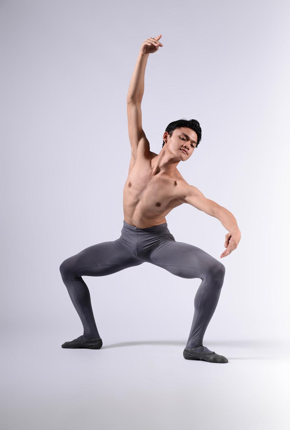 Ballet Dictionary: Grand Plié in Second Position  - Ballet Manila Archives