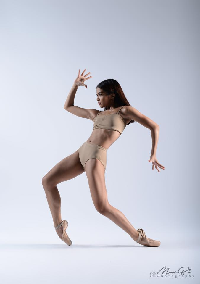 Fearless and eager to learn, Nicole says she's looking forward to growing more in ballet. Photo by MarBi Photography