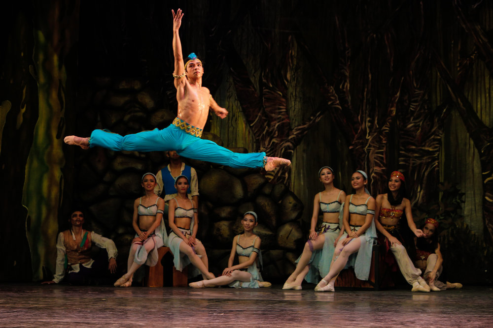 Gerardo Francisco, now principal dancer, has taken on the role of Ali in every staging of Ballet Manila's  Le Corsaire  since 2004. Photo by Jojo Mamangun