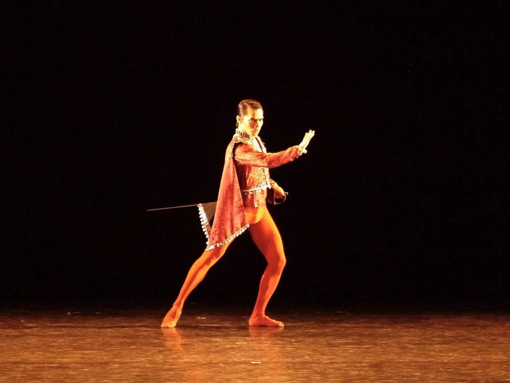 John Ralp Balagot - With Ballet Manila since 2015