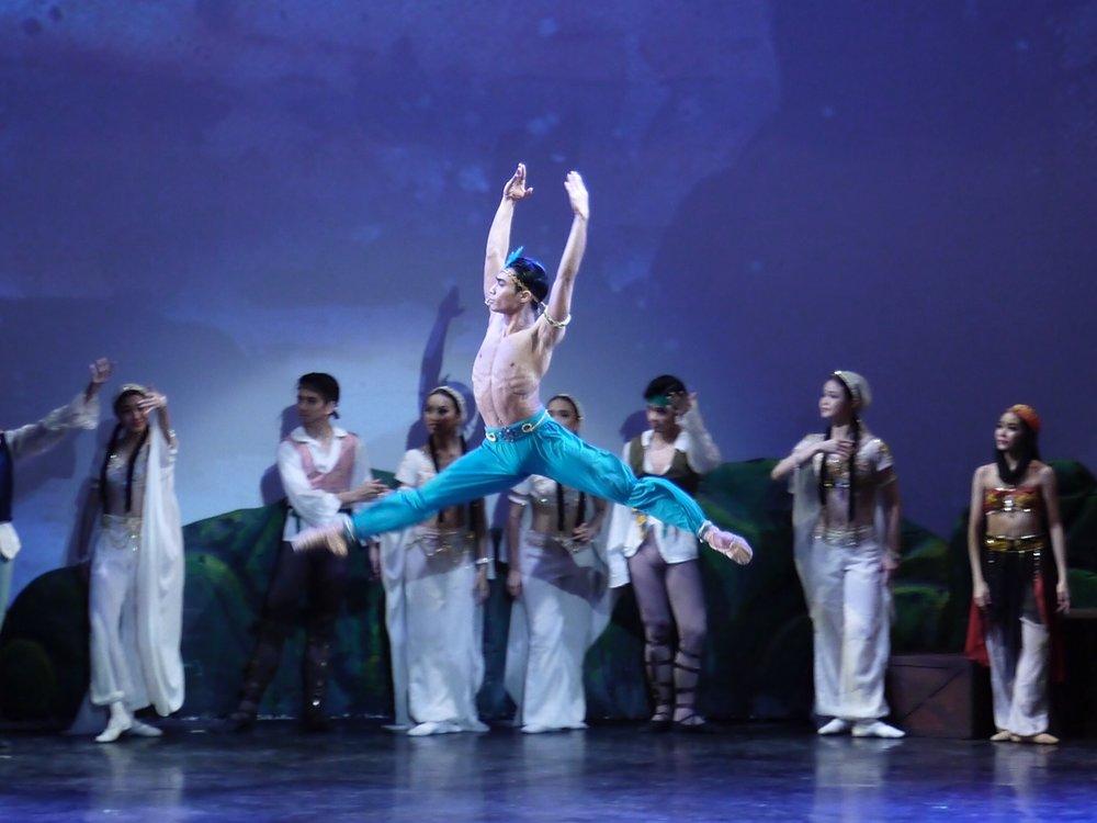 John Stephen De Dios - With Ballet Manila since 2012