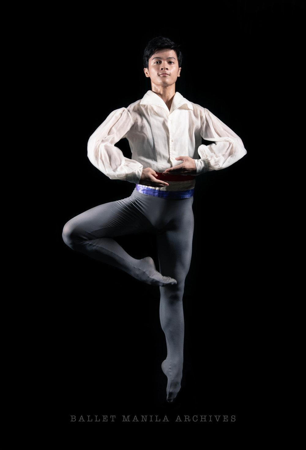 Ballet Dictionary: Tour en l'air (in Passé)  1 - Ballet Manila Archives