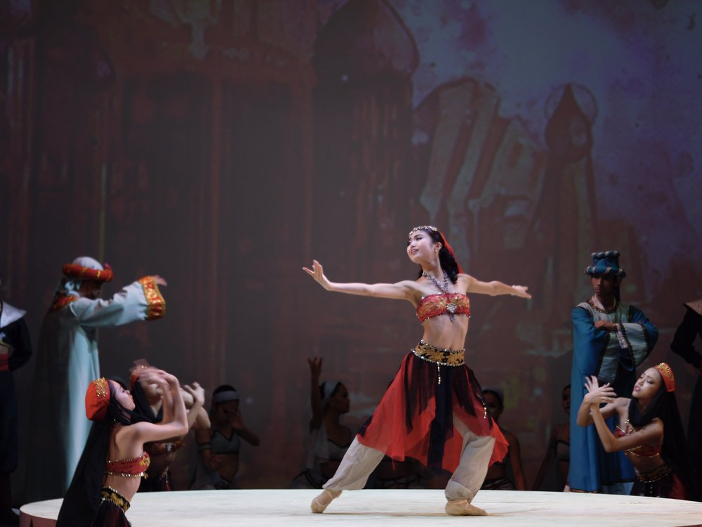 Sayaka is grateful for all the roles she's been given in Ballet Manila, including in last October's  Le Corsaire . Photo by Giselle P. Kasilag