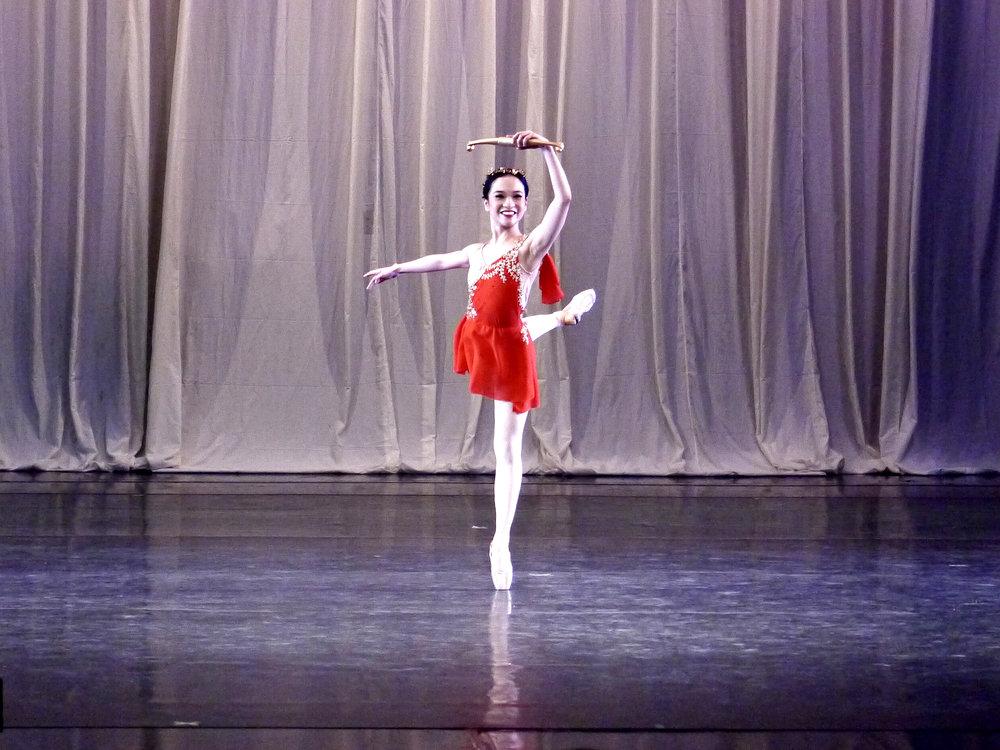 Jasmine Pia Dames dances in  Diane and Acteon  in  Deux.