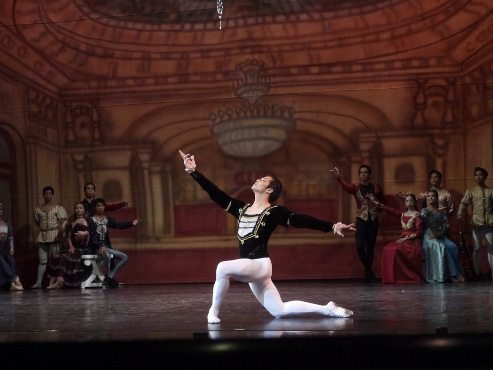 Mark Sumaylo had danced a string of principal roles as a soloist, including as Prince Siegfried in  Swan Lake.
