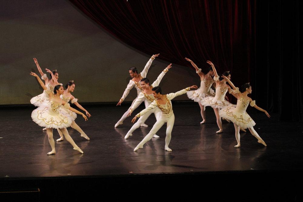 The Summer Intensive culminates in a grand recital called  Just Dance!  Photo by Ocs Alvarez