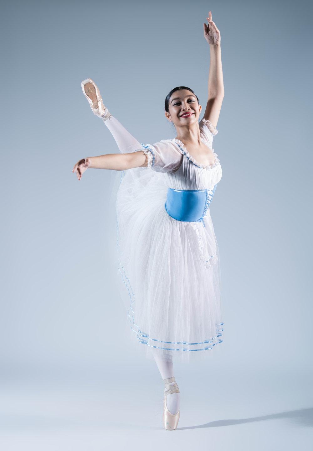 Ballet Manila trainee Monique Valera will compete in Junior B. Photo by MarBi Photography