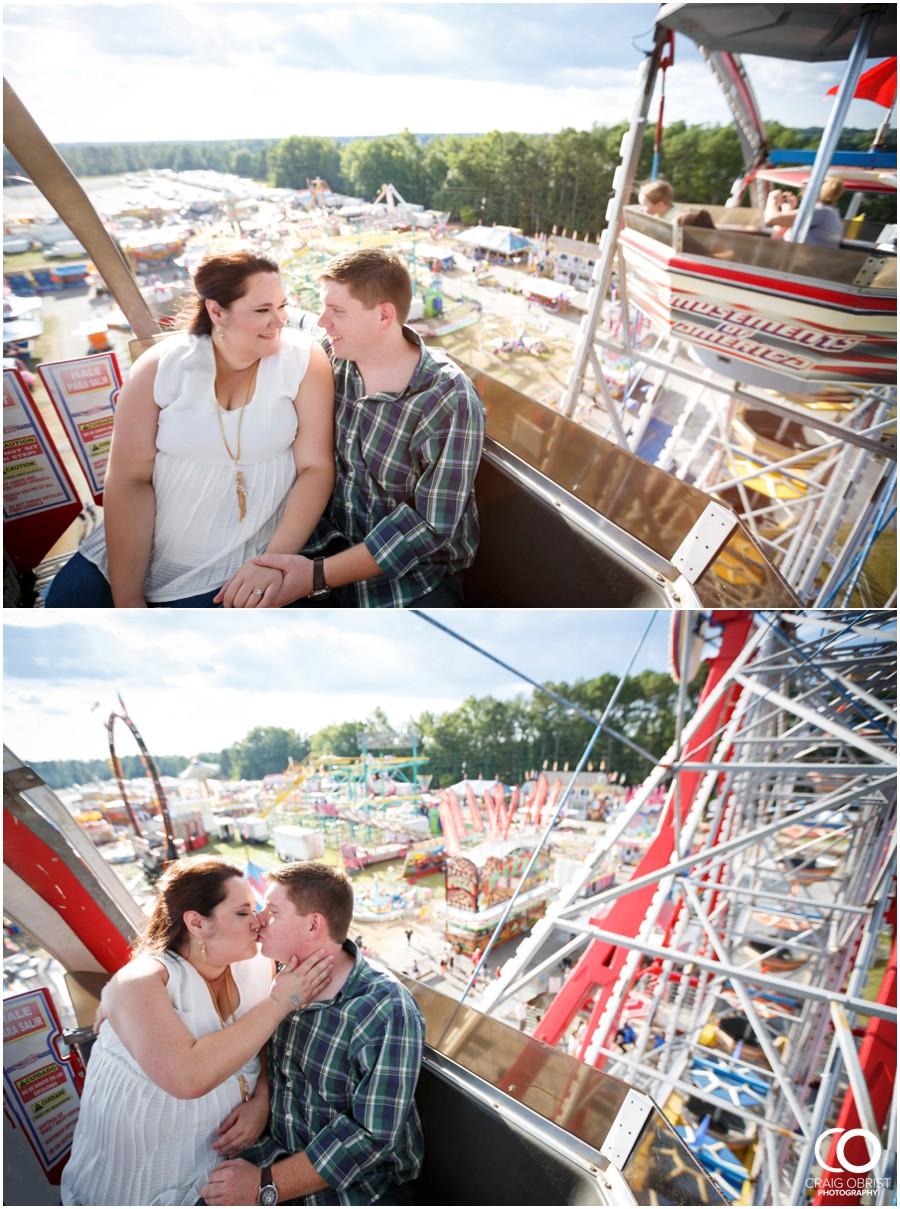 Gwinnett County Fair Engagement Portraits Ferris Wheel_0003.jpg