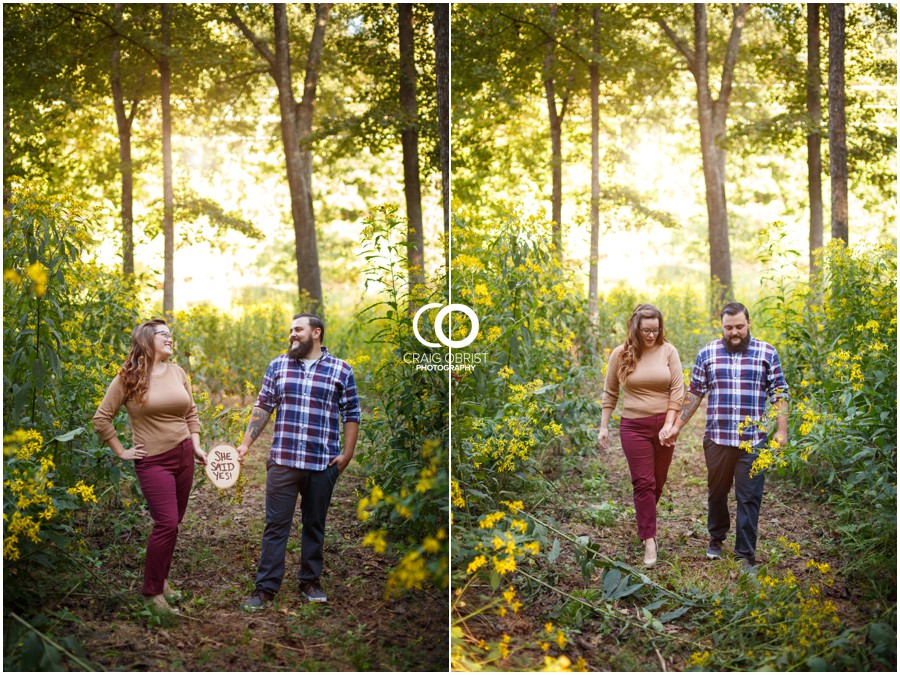 Athens Botanical Gardens UGA Bulldogs Engagement Portraits_0007.jpg