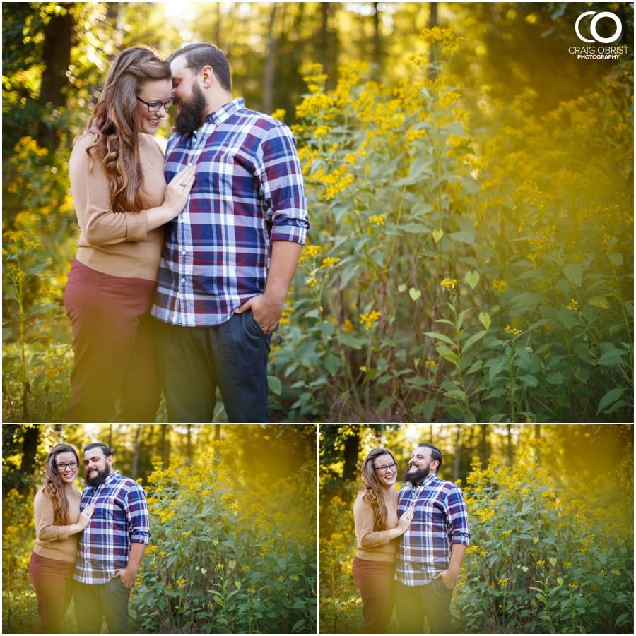Athens Botanical Gardens UGA Bulldogs Engagement Portraits_0009.jpg