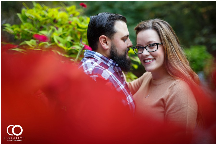 Athens Botanical Gardens UGA Bulldogs Engagement Portraits_0013.jpg