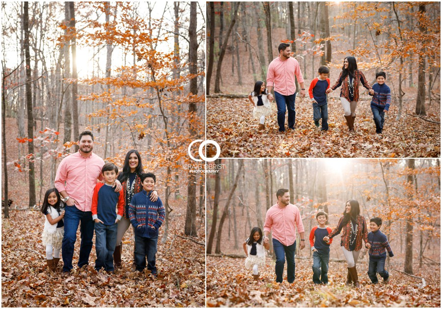 Fall Family Portraits Georgia Woods Leaves_0001.jpg
