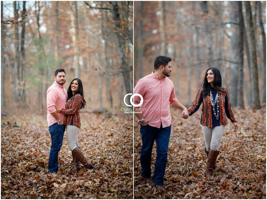 Fall Family Portraits Georgia Woods Leaves_0012.jpg