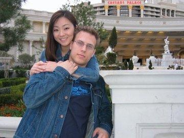 Our honeymoon in Vegas.