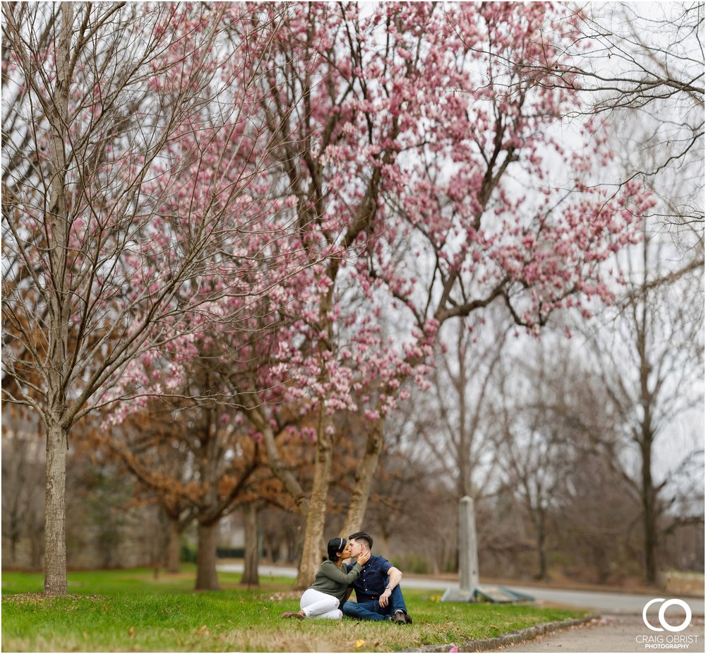 Piedmont Park Atlanta Skyline High Museum Engagement Portraits_0009.jpg