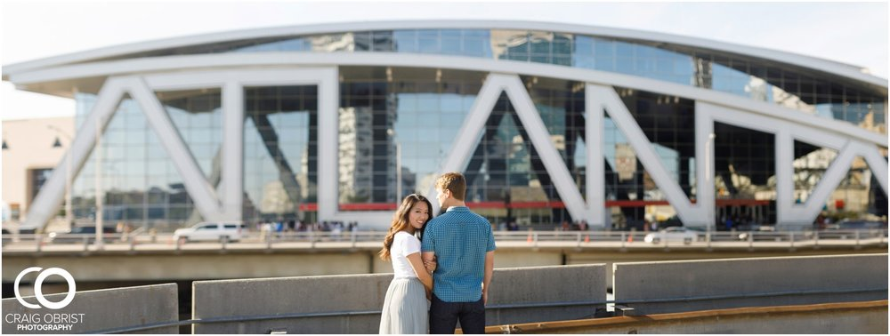 Atlanta Philips Arena Skyline Engagement Portraits_0005.jpg
