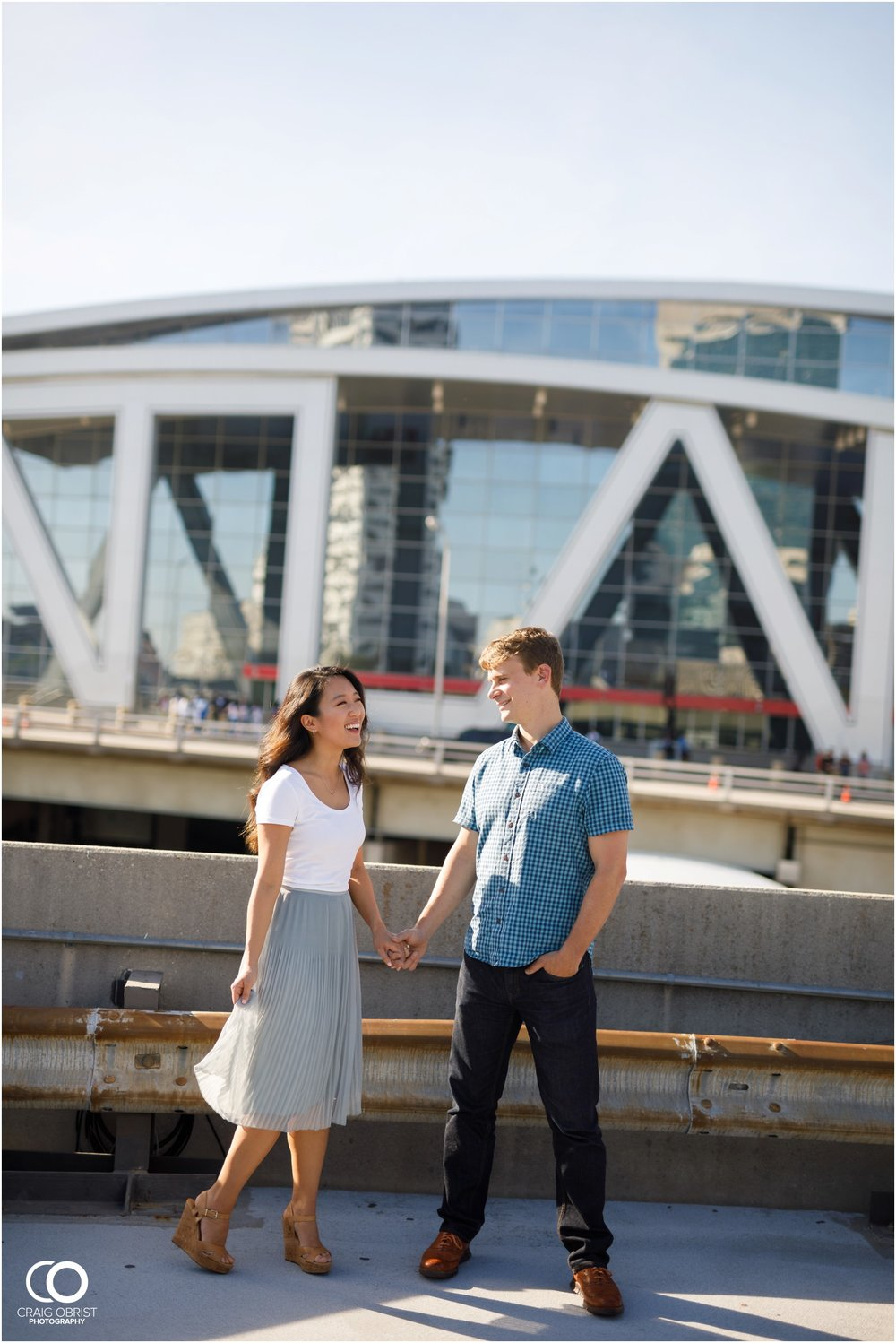 Atlanta Philips Arena Skyline Engagement Portraits_0004.jpg