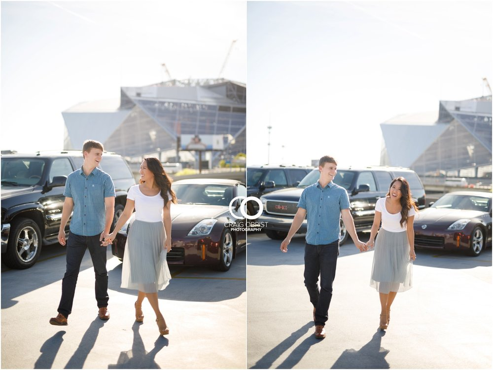 Atlanta Philips Arena Skyline Engagement Portraits_0007.jpg