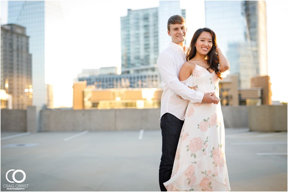 Atlanta Philips Arena Skyline Engagement Portraits_0020.jpg