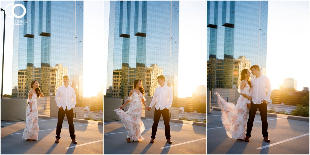 Atlanta Philips Arena Skyline Engagement Portraits_0023.jpg