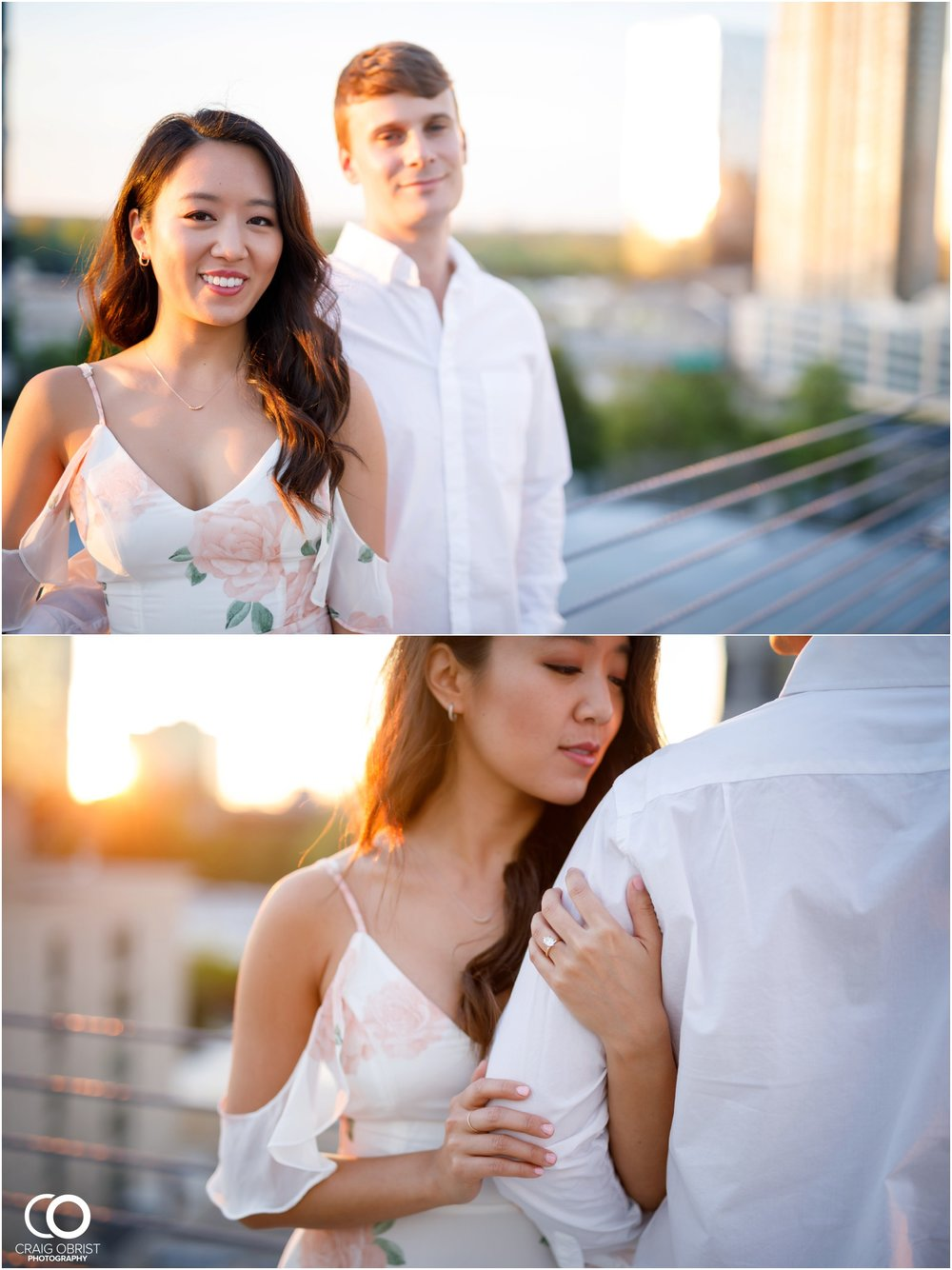 Atlanta Philips Arena Skyline Engagement Portraits_0028.jpg