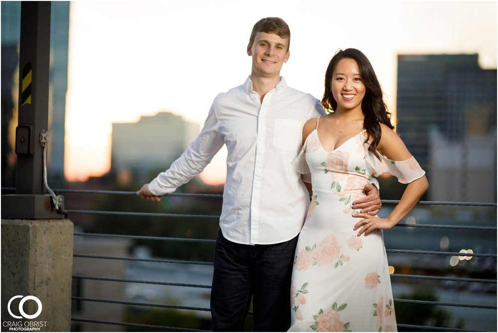 Atlanta Philips Arena Skyline Engagement Portraits_0035.jpg