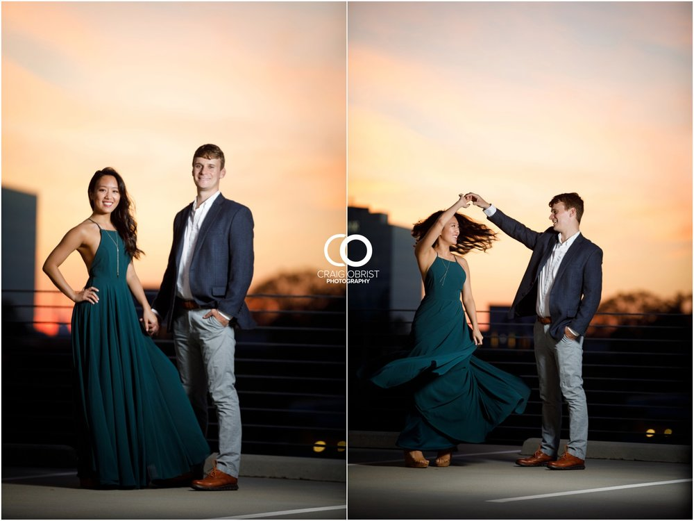 Atlanta Philips Arena Skyline Engagement Portraits_0037.jpg
