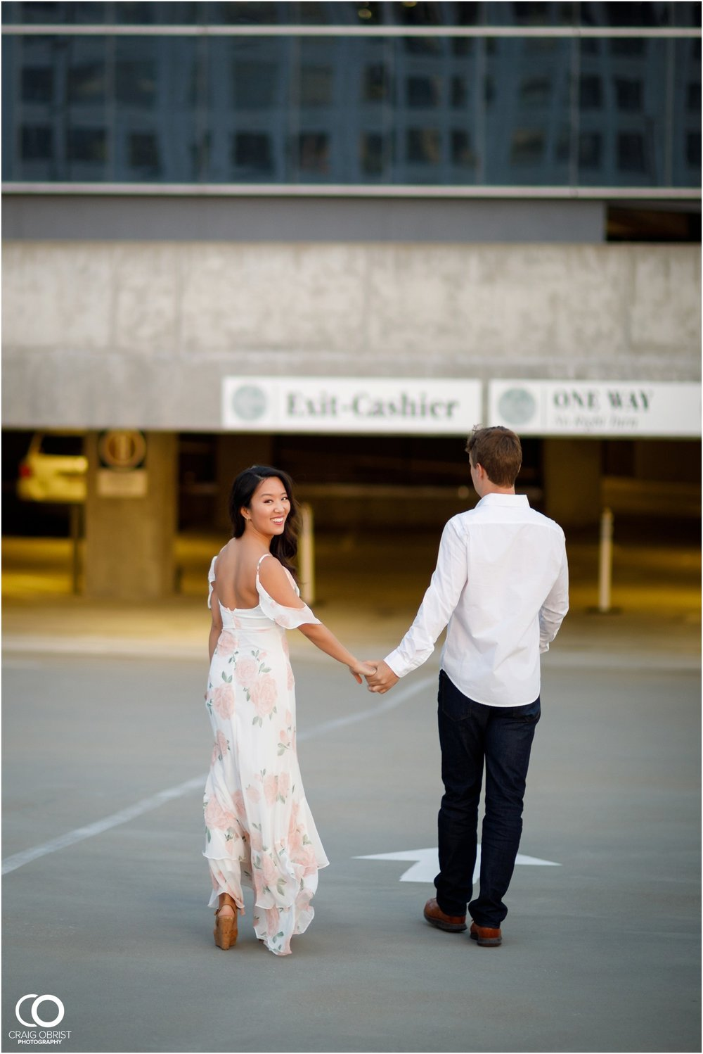 Atlanta Philips Arena Skyline Engagement Portraits_0036.jpg