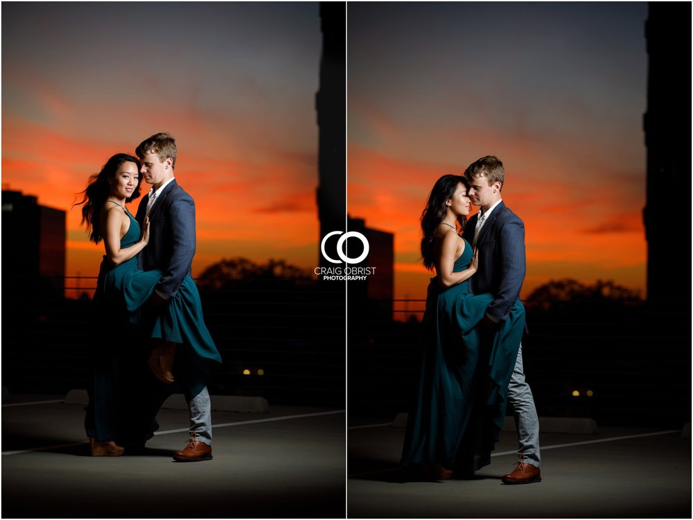 Atlanta Philips Arena Skyline Engagement Portraits_0039.jpg