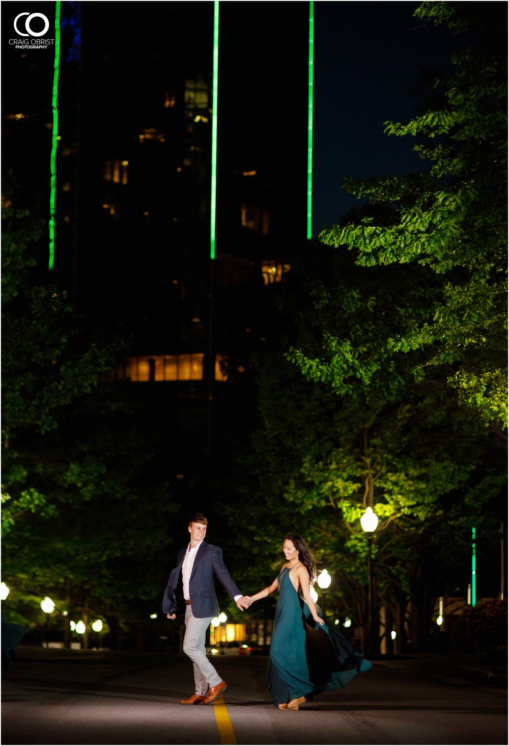 Atlanta Philips Arena Skyline Engagement Portraits_0044.jpg