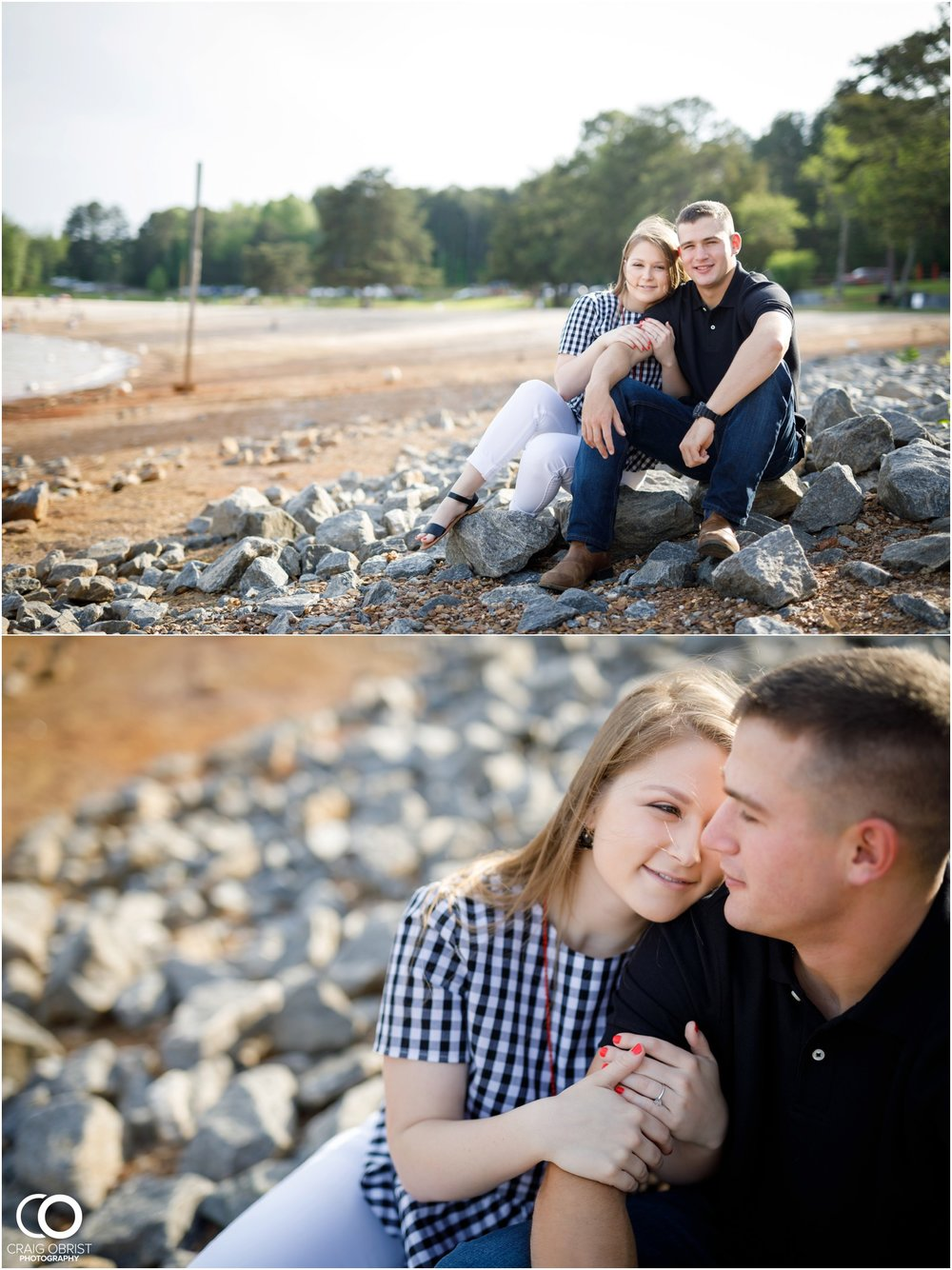 Sawnee Mountain Lake Lanier Engagement_0002.jpg