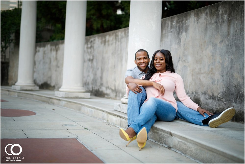 High Museum Atlanta Atlantic Station Engagement Portraits_0026.jpg