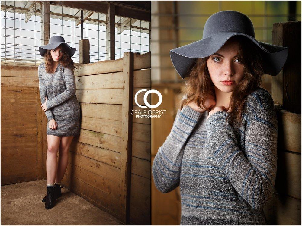 Senior Portraits Horse Girl Farm Georgia_0015.jpg