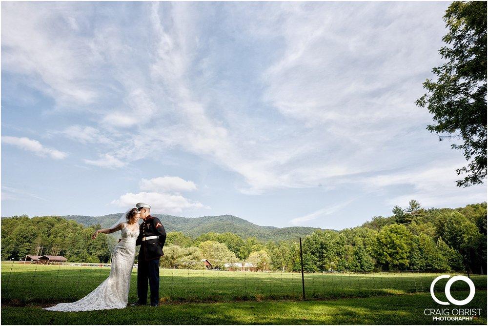 Willow Creek Farm North Georgia Mountain Marines Military Wedding_0074.jpg