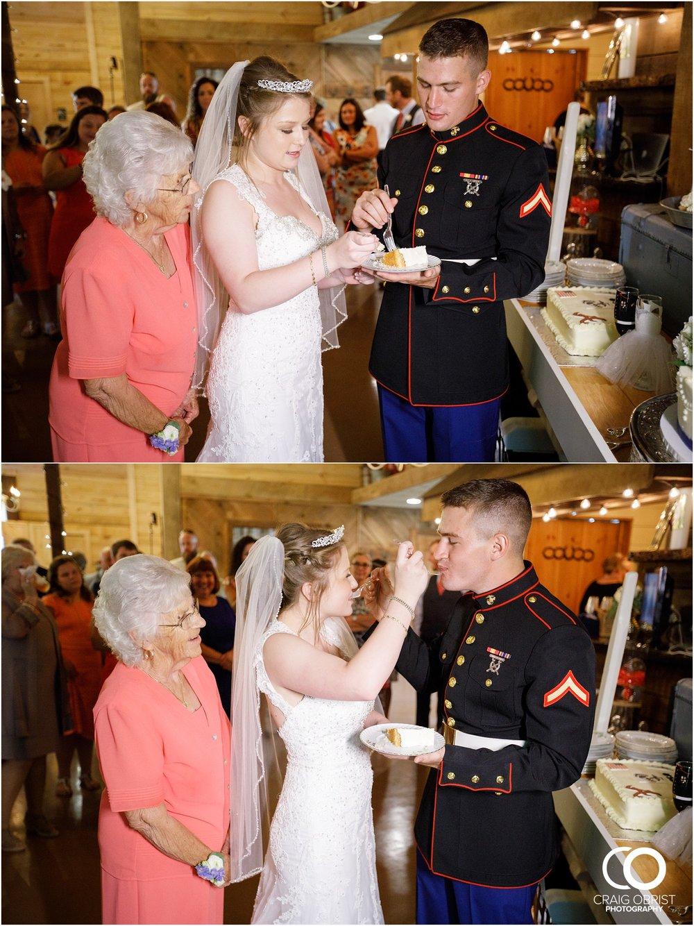 Willow Creek Farm North Georgia Mountain Marines Military Wedding_0091.jpg