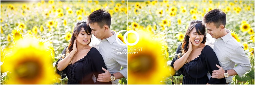 Sunflower field engagement portraits sunset mountains georgia_0002.jpg
