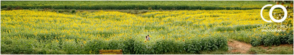 Sunflower field engagement portraits sunset mountains georgia_0037.jpg