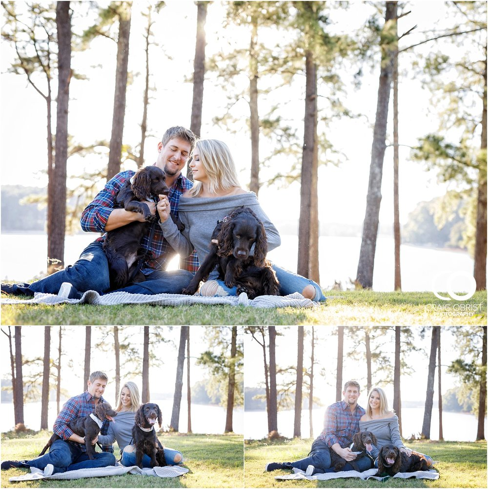 Lake Lanier Chevelle Atlanta Falcons Engagement Portraits_0001.jpg