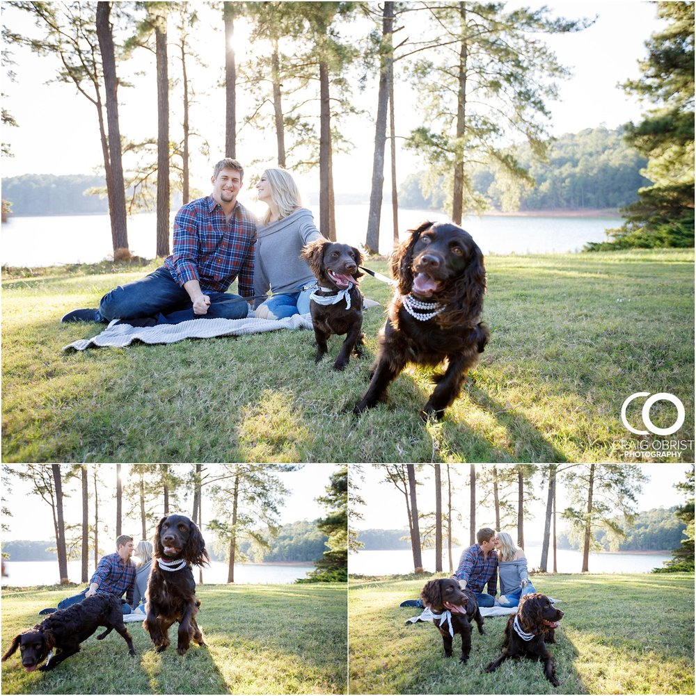 Lake Lanier Chevelle Atlanta Falcons Engagement Portraits_0003.jpg