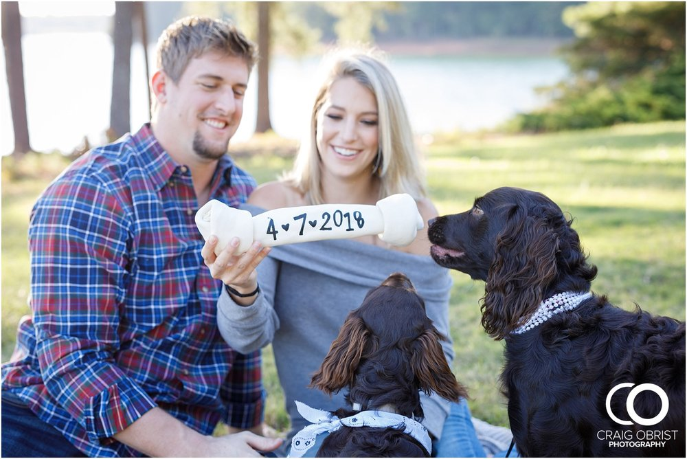 Lake Lanier Chevelle Atlanta Falcons Engagement Portraits_0006.jpg