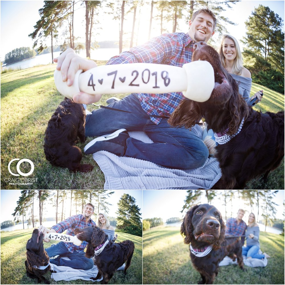 Lake Lanier Chevelle Atlanta Falcons Engagement Portraits_0008.jpg