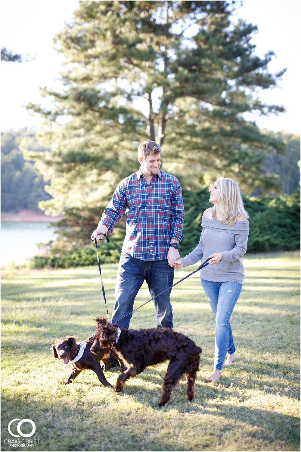 Lake Lanier Chevelle Atlanta Falcons Engagement Portraits_0009.jpg