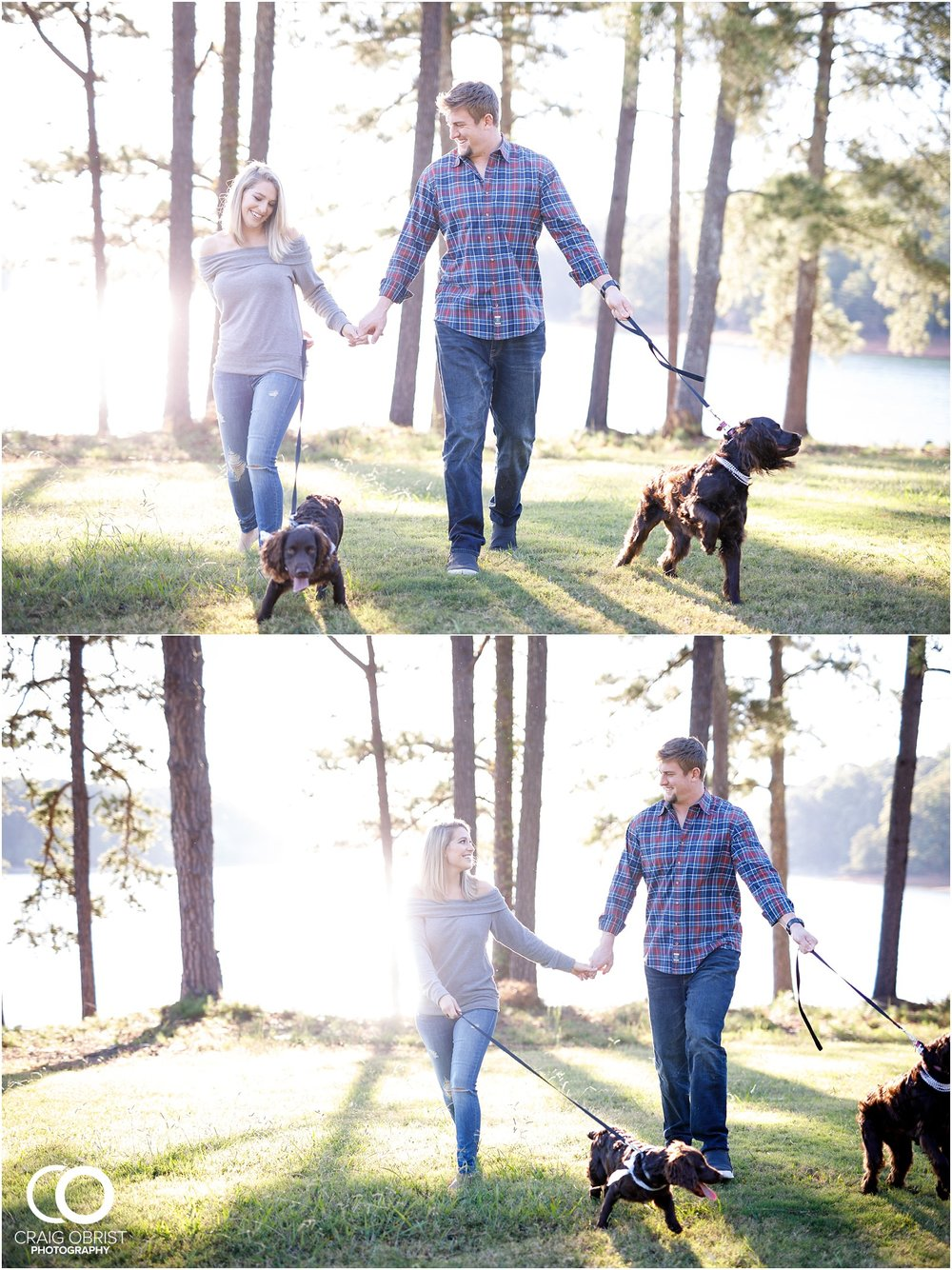 Lake Lanier Chevelle Atlanta Falcons Engagement Portraits_0010.jpg