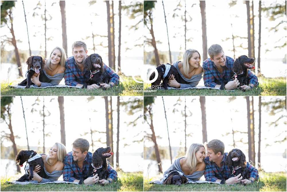 Lake Lanier Chevelle Atlanta Falcons Engagement Portraits_0011.jpg