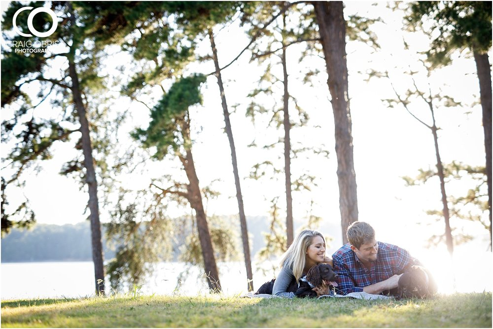 Lake Lanier Chevelle Atlanta Falcons Engagement Portraits_0012.jpg