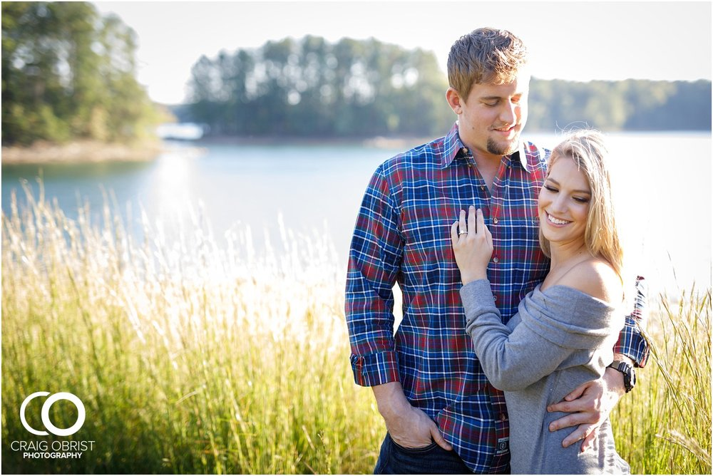 Lake Lanier Chevelle Atlanta Falcons Engagement Portraits_0015.jpg