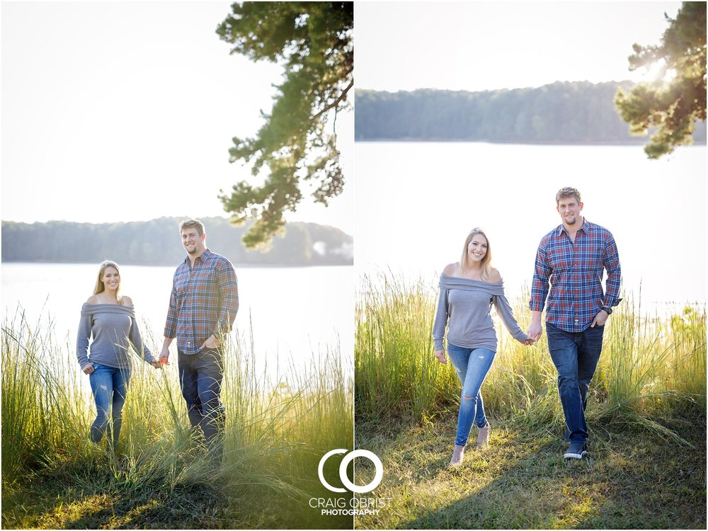 Lake Lanier Chevelle Atlanta Falcons Engagement Portraits_0017.jpg