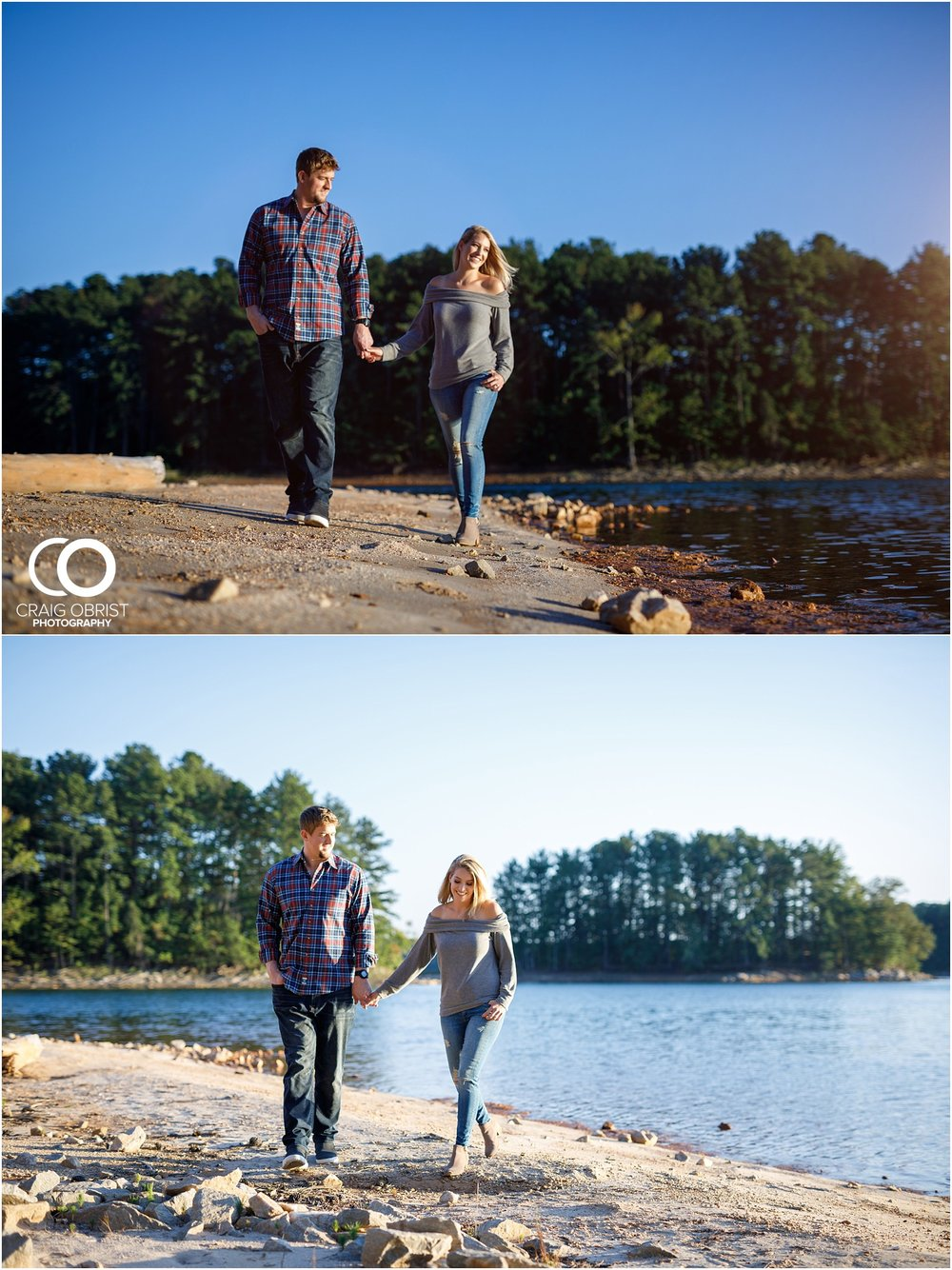 Lake Lanier Chevelle Atlanta Falcons Engagement Portraits_0021.jpg