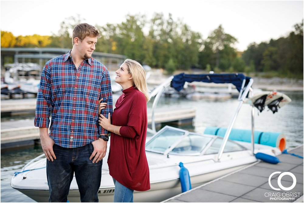 Lake Lanier Chevelle Atlanta Falcons Engagement Portraits_0025.jpg