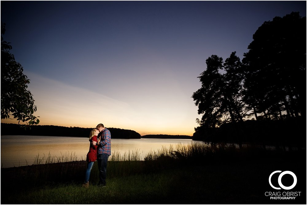 Lake Lanier Chevelle Atlanta Falcons Engagement Portraits_0034.jpg